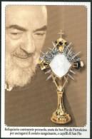Santino - San Pio Da Pietrelcina - Reliquiario - Come Da Scansione - Images Religieuses