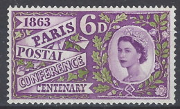 Gran Bretaña  372 ** MNH. 1963. Fosforo - Nuovi