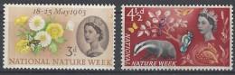 Gran Bretaña  373/374 ** MNH. 1963. Fosforo - 1952-.... (Elizabeth II)
