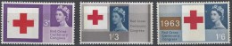 Gran Bretaña  378/380 ** MNH. 1963. Fosforo - Nuovi
