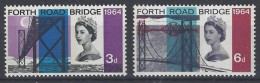 Gran Bretaña  395/396 ** MNH. 1964. Fosforo - Nuovi