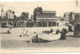 62  PARIS  PLAGE   LES  CABINES  PARTICULIERES - France