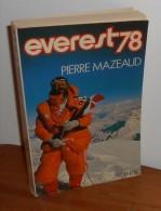 Everest 78. Pierre Mazeaud. - Deportes