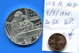 Usa  Arg  4/7/1776  20  Gr  Sup - Royal/Of Nobility