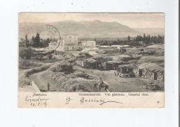 JERICHO 67 GESAMTANSICHT VUE GENERALE GENERAL VIEW 1907 - Palästina