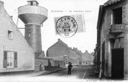 Le Chateau D'eau En 1908 - Quiévrain