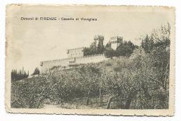 FIRENZE CASTELLO DI VINCIGLIATA 1930 VIAGGIATA FP - Firenze