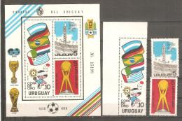 Serie Nº 1066/8 + Hb-37 Uruguay - Uruguay