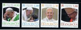 2016 - VATICAN - VATICANO - VATIKAN - D12E - MNH SET OF 4 STAMPS  ** - Vatican