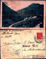 538k) Cartolina -di-olivetta San Michele-panorama-viaggiata - Italia