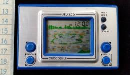 Ancien  Petit  Jeu LCD Crocodile - Jeux électroniques