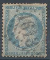 Lot N°30703  Variété/n°37, Oblit  GC 1613 GAILLON (26), Tache Blanche Sous Le Menton - 1870 Siege Of Paris