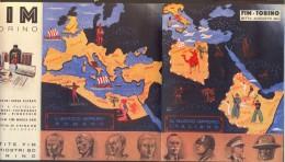 ITALIA - FIM TORINO - SCUOLE Orario - Adv. IMPERO ROMANO IMPERO ITALIANO - 1936 - Diploma & School Reports