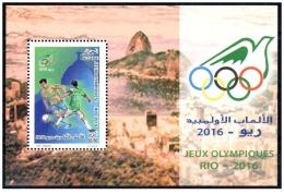 Algérie 2016 - BF-Sheet -MNH** Olympic Games Rio 2016 Olympics Juegos Olímpicos JO Olympische Spiele Brazil - Sommer 2016: Rio De Janeiro