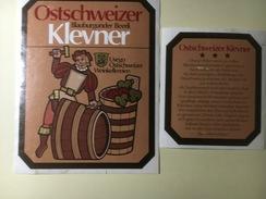 795 - Suisse Ostschweiz Blauburgunder Beerli Klevner - Etiquettes