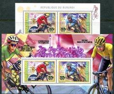 BURUNDI 2015 CYCLING CUP PERF MNH - Cycling