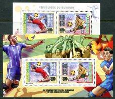 BURUNDI 2015 VOLLEYBALL PERF MNH - Volley-Ball