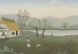 CP La Chaumière - Marie Harle - Paintings