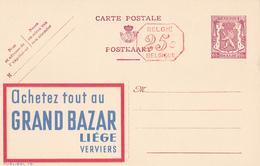 ENTIER POSTAUX - PUBLIBEL 791M - GRAND BAZAR  -  FN -   65C+25C - Stamped Stationery