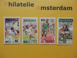 Nigeria 1996, OLYMPICS ATLANTA: Mi 666-69, ** - Summer 1996: Atlanta