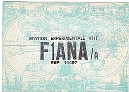 CARTE - RADIO - QSL - PARIS - 18è  - 1969  - - Radio-amateur
