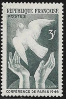 N° 761  FRANCE  -  NEUF  -  CONFERENCE DE LA PAIX A PARIS  - 1946 - Francia