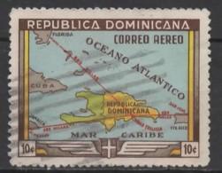DOMINICAN REPUBLIC 1946 450th Anniv Of Santo Domingo - 10c Caribbean Air Routes  FU - Dominicaanse Republiek