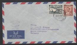 SIAM - THAILANDE / 4 - 11 - 1959 PREMIER VOL BANGKOK FRANKFURT - LUFTHANSA FFC (ref 4132) - Siam