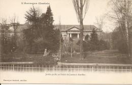 15000 AURILLAC AUVERGNE - JARDIN PUBLIC Et PALAIS DE JUSTICE Vers 1900 - Aurillac