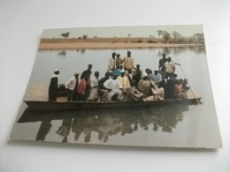 Region De Kankan Rep. De  Guinee Traversée Du Fleuve à Bakonko Cissé-là - Guinea Francese