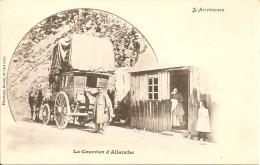 15160 ALLANCHE AUVERGNE - LE COURRIER D' ALLANCHE Vers 1900 - Cartes Postales