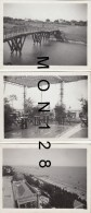 ITALIE - VENICE LIDO - LIDO DI VENEZA - LIDO VENISE - HOTEL EXCELSIOR - 3 PHOTOS 12X9 CMS - - Lieux