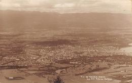 SUISSE  GENEVE  VUE DE GENEVE DEPUIS LES XIII ARBRES  SALEVE  HAUTE SAVOIE - GE Geneva