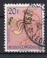 YT N° 321 - Oblitéré - Fleurs - Congo Belge