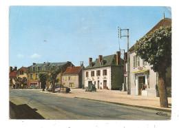 Vaumas-La Place- Tabac - Peugeot 203- 2cv- (B.2389) - Autres Communes