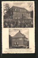 AK Forchheim, Gasthaus Waldfrieden V. A. Leicht, Tabak-Forschungs-Institut Für Das Deutsche Reich - Deutschland