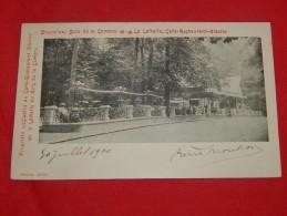 """BRUXELLES -  Café Restaurant Glacier   """" La Laiterie """" -  1900 -  (2 Scans) - Cafés, Hôtels, Restaurants"""