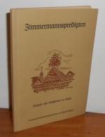 Zimmermannspredigten. PFLEGER Alfred. - Livres, BD, Revues