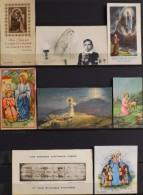 LOT De 8 IMAGES RELIGIEUSES DIVERSES - En Très Bon Etat - - Santini