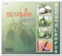Laos 2008, Postfris MNH, Eggplant - Laos