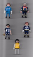5 Figurines Playmobil. (Voir Commentaires) - Playmobil