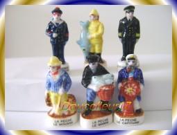 Marins Et Capitaines.... Lot De 6 Feves  ... Ref AFF : 103-2003.. (pan 0012) - Personnages