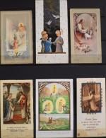 LOT De 6 IMAGES RELIGIEUSES DIVERSES - En Très Bon Etat - - Images Religieuses