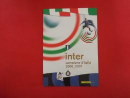 Italia Italy Italie Folder 2007 Inter Campione D´ Italia Valutazione Catalogo 2012 € 30,00 Affare - 6. 1946-.. Repubblica