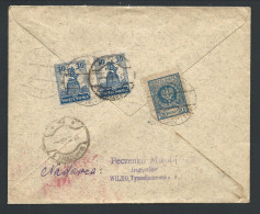 L Recom Affr 20g + 30g X2 De WILNO/1926 Pour La Belgique - 1919-1939 Republic