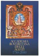 """2000,Trento - Rovereto """"Manifestazioni Per I 250 Anni Dell´Accademia Roveretana Degli Agiati"""" - Trento"""