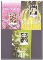 Liberia 2007, Postfris MNH, Flowers, Orchids - Liberia