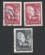Schweden, 1959, Michel-Nr. 449-450 C+D, Gestempelt - Sweden