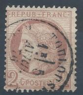 Lot N°30745  N°51, Oblit Cachet à Date De TOULOUSE (30) - 1871-1875 Ceres