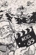 NOEL - Père Noël - Santa - - Illustrateur Clavaud 1985 - Santa Claus